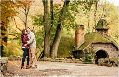 new jersey botanical garden skylands manor engagement