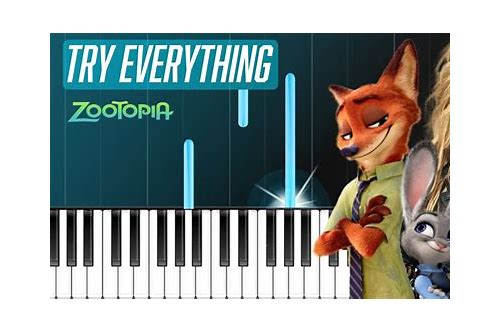 download lagu try everything zootopia