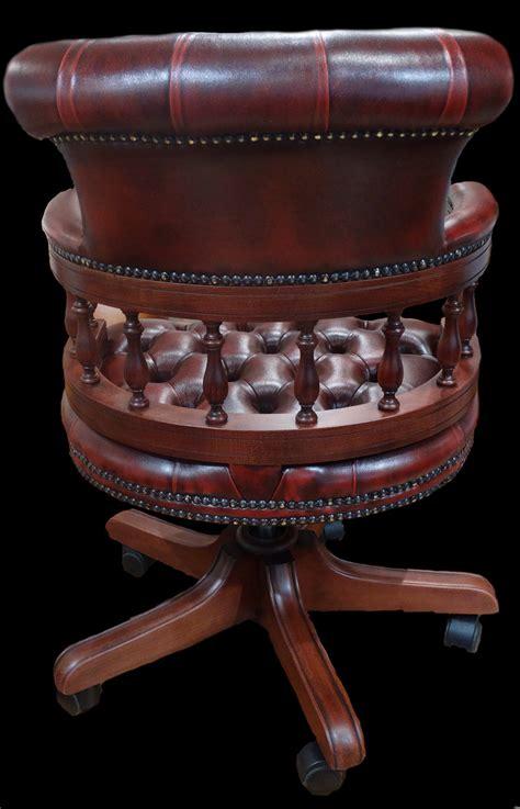 fauteuil de bureau anglais fauteuil de bureau anglais captains longfield 1880