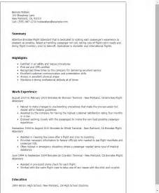 resume exles word file valet attendant resume resume sle flight attendant free resume resume templates with no