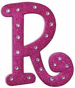 craft for kids pink foam glitter letter quotrquot with clear With sparkly letters