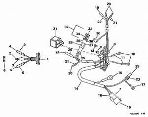 Power Trim  Tilt Electrical Parts For 1997 50hp J50ttleur