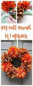 Easy, Fall, Wreath