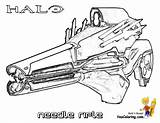 Halo Coloring Pages Reach Rifle Needle Boys Halo3 Sheets Weapon Drawings Easy Yescoloring Bomb Xbox Game Fearless sketch template