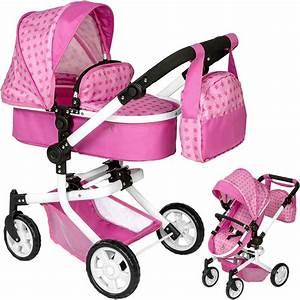 Puppenwagen 2 In 1 : einzelbewertung zu puppenwagen mika 2in1 sternchen mit wickeltasche rosa pink von sandy ~ Eleganceandgraceweddings.com Haus und Dekorationen