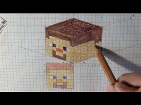 wie zeichnet man minecraft   tutorial