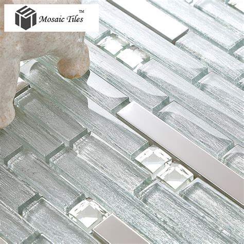 tst glass tile glass tiles silver