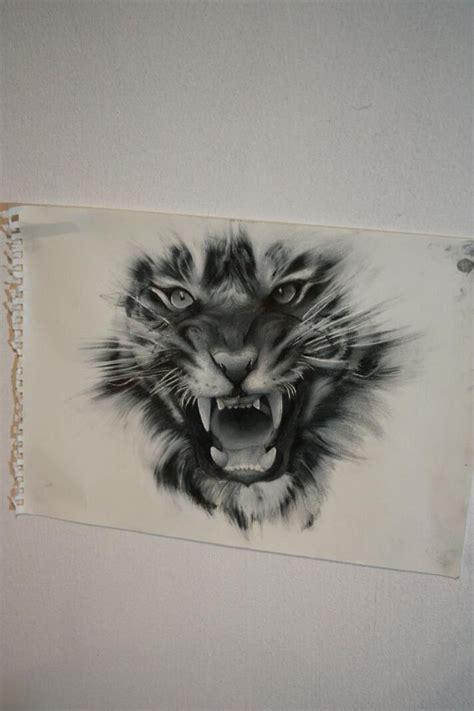 roaring tiger tattoo designs ideas
