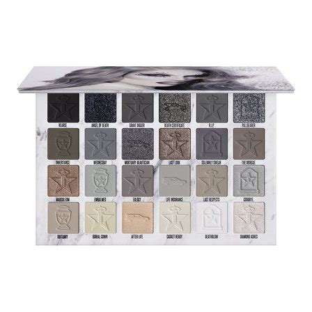 jeffree star cosmetics cremated eyeshadow palette makeup