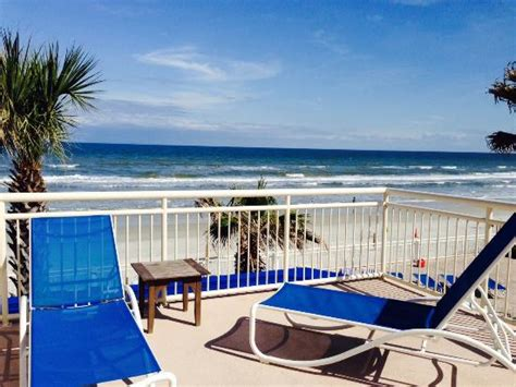 Deck Daytona Shores by Terrace Patio Picture Of The Shores Resort Spa