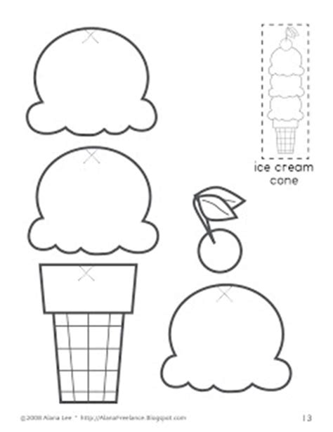 alana designs custom photo products with personality 176 | ED007.Icecreamcone