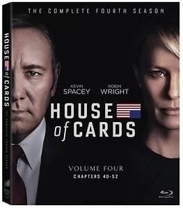 House Of Cards Season 4 Blu Ray Digital Release Date