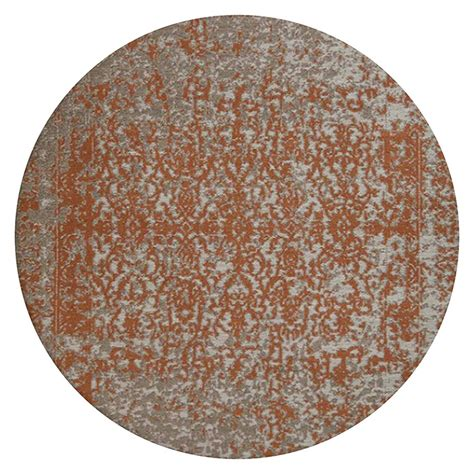 kayoom teppich rund 300 beige rost durchmesser
