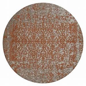 Teppich Rund 300 : kayoom teppich sunny rund 300 beige rost durchmesser 160 cm 100 polyester 6666 ~ Yasmunasinghe.com Haus und Dekorationen