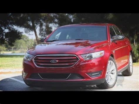 ford taurus review  road test youtube