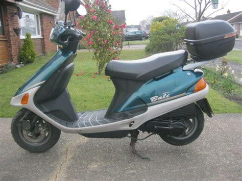 honda bali 50 honda bali sj 50cc scooter 1998 model 2 owners vgc 12 month mot great runner in ipswich
