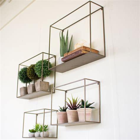 bedroom lighting options metal wall shelf set 4 nke1034