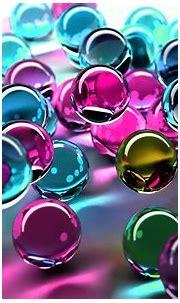Colorful Balls Of Glass 3d Desktop Wallpaper 2560x1600 ...