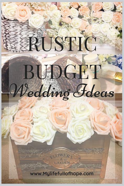 rustic budget wedding ideas
