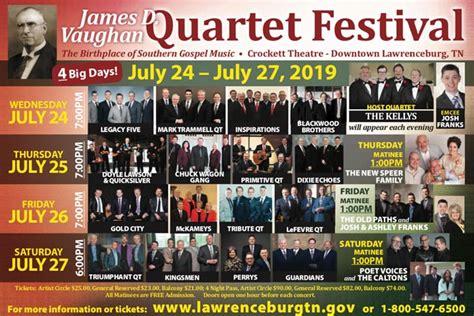 james  vaughan gospel quartet festival lawrenceburg