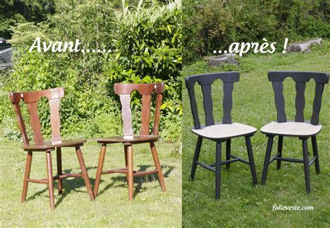 repeindre chaise en bois relooker des chaises en bois