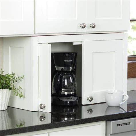 diy appliance garage craft gawker kitchen countertop