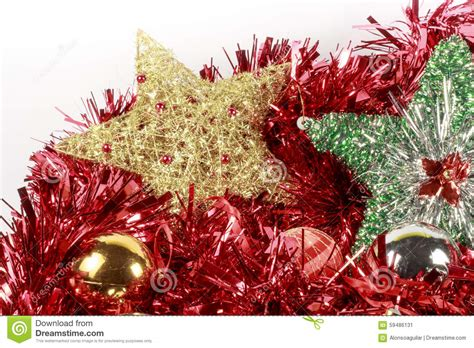 christmas tree stars  baubles   types