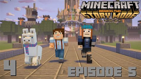 minecraft story mode season 2 episode 5 part 4 hit the road ending