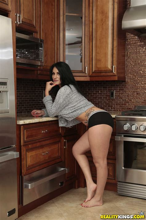 Busty Brunette Likes Sex In The Kitchen Photos Tyler