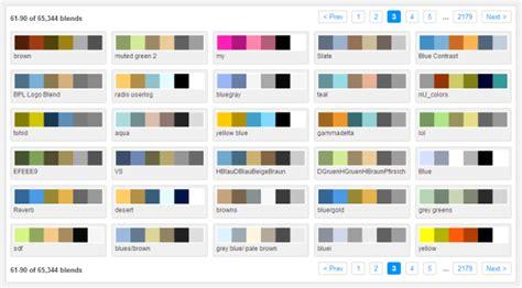 color blender picking a color palette for your s artwork