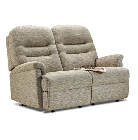 Seater Settee by Keswick Fabric Fixed 2 Seater Settee Care100