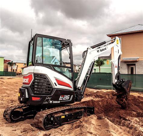 bobcat introduces   compact excavator   series lineup rural lifestyle dealer
