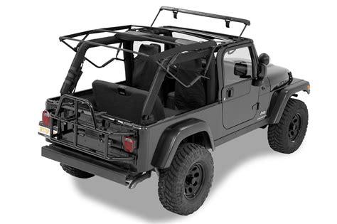 jeep wrangler unlimited soft top bestop ck supertop nx soft top with upper door