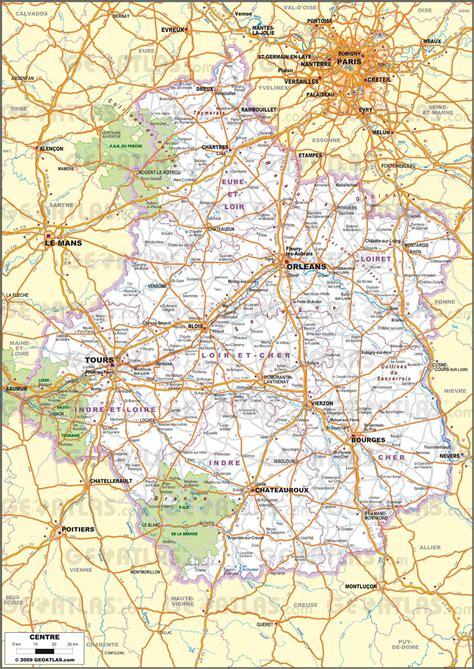 Carte Touristique Du Centre De La by Carte Du Centre Val De Loire Centre Val De Loire Carte