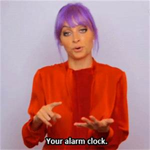 Your Alarm Clock GIFs - Find & Share on GIPHY