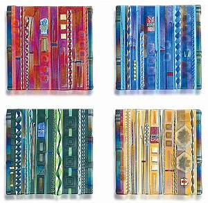 Wall Panel Color Series Set by Mark Ditzler (Art Glass ...