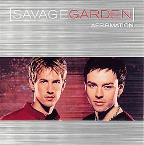 savage garden affirmation savage garden 364 vinyl records cds found on cdandlp