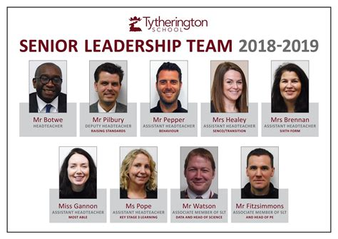 Senior Leadership Team