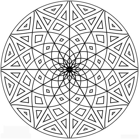 pattern coloring pages free printable geometric coloring pages for adults