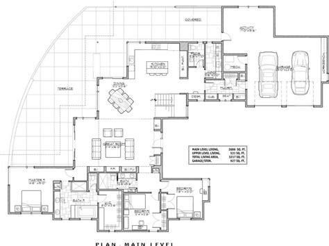 House Floorplans by Luxury Luxury Modern House Floor Plans New Home Plans Design