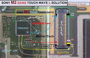 Sony Xperia M2 D2302 Touch Screen Not Working Problem
