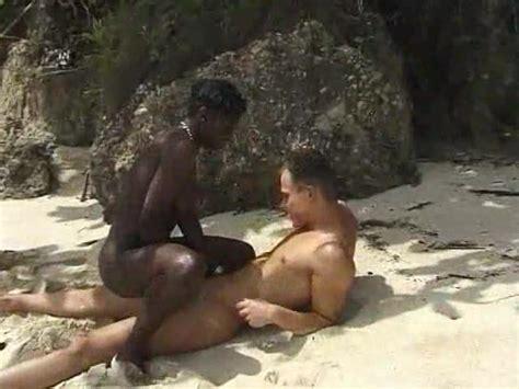 Beach Sex With Sandy Black Babe Outdoor Porn