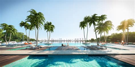 harbour miami beach   luxury condo   water