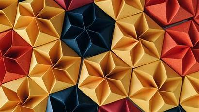 Craft Paper 4k Wallpapers Desktop Resolution Shapes