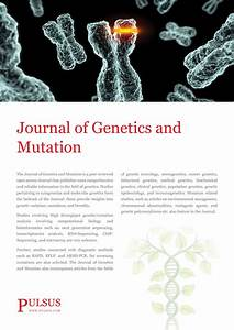 Journal Of Genetics And Mutation