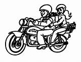 Motorcycle Coloring Pages Printable Motorbike Lego Mouse Dad Ride sketch template