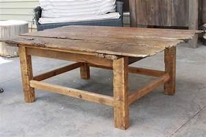 Barn door coffee table m jones creations for Rustic door coffee table