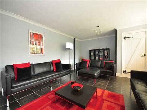 Wohnzimmer Schwarz Rot by Black And White Living Room Black And White