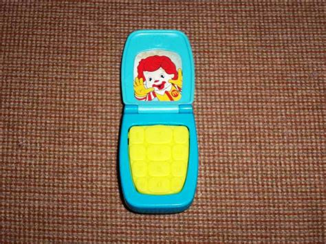 mcdonald s phone mcdonald s ronald mcdonald cell phone 2009 u3 happy meal