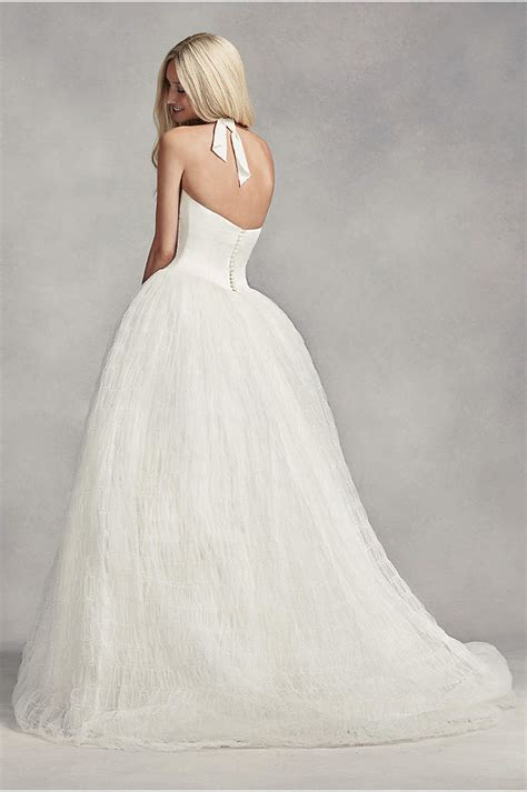 Tulle Plus Size Wedding Dress With Illusion Bodice
